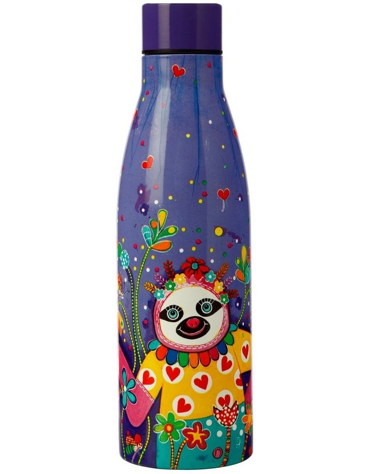 Donna Sharam Rainbow Jungle Double Wall Insulated Bottle 500ML Slow Walker image 1