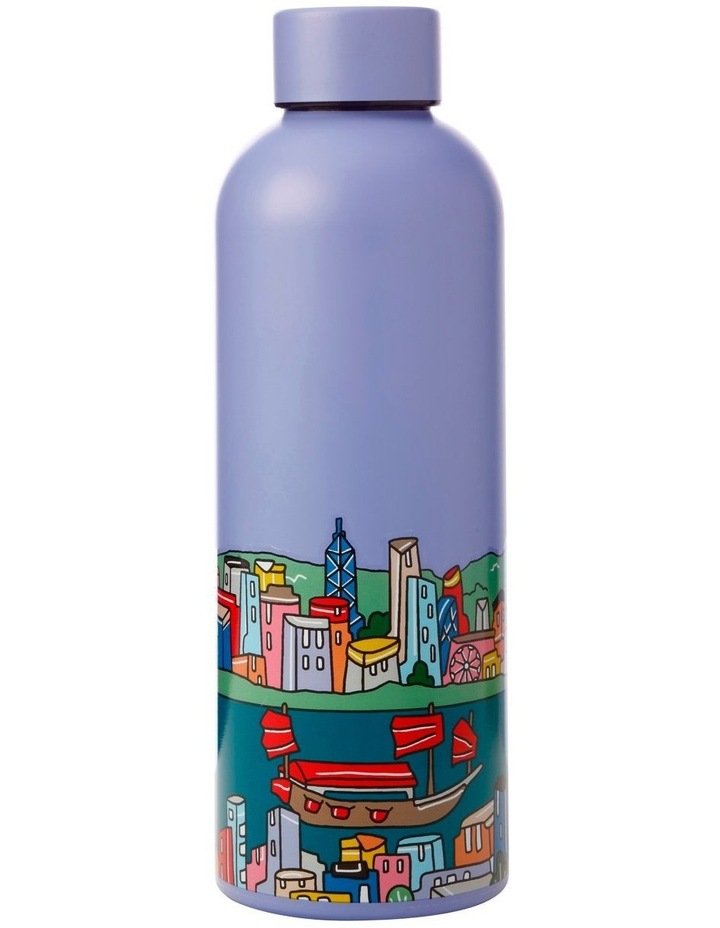 Megan McKean Cities Double Wall Insulated Bottle 500ML Hong Kong image 1