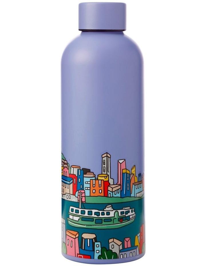 Megan McKean Cities Double Wall Insulated Bottle 500ML Hong Kong image 2