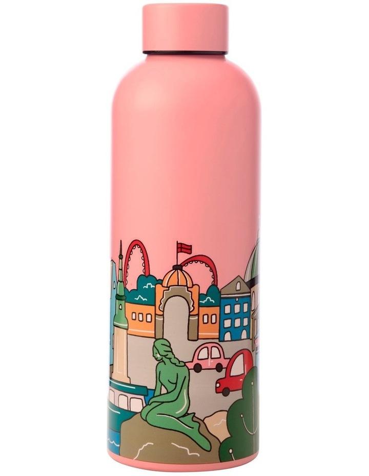 Megan McKean Cities Double Wall Insulated Bottle 500ML Copenhagen image 1