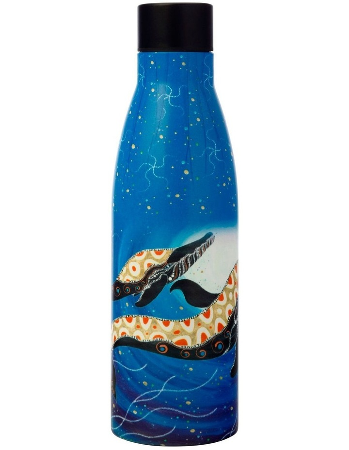 Melanie Hava Journeys Double Wall Insulated Bottle 500ML Whales image 1