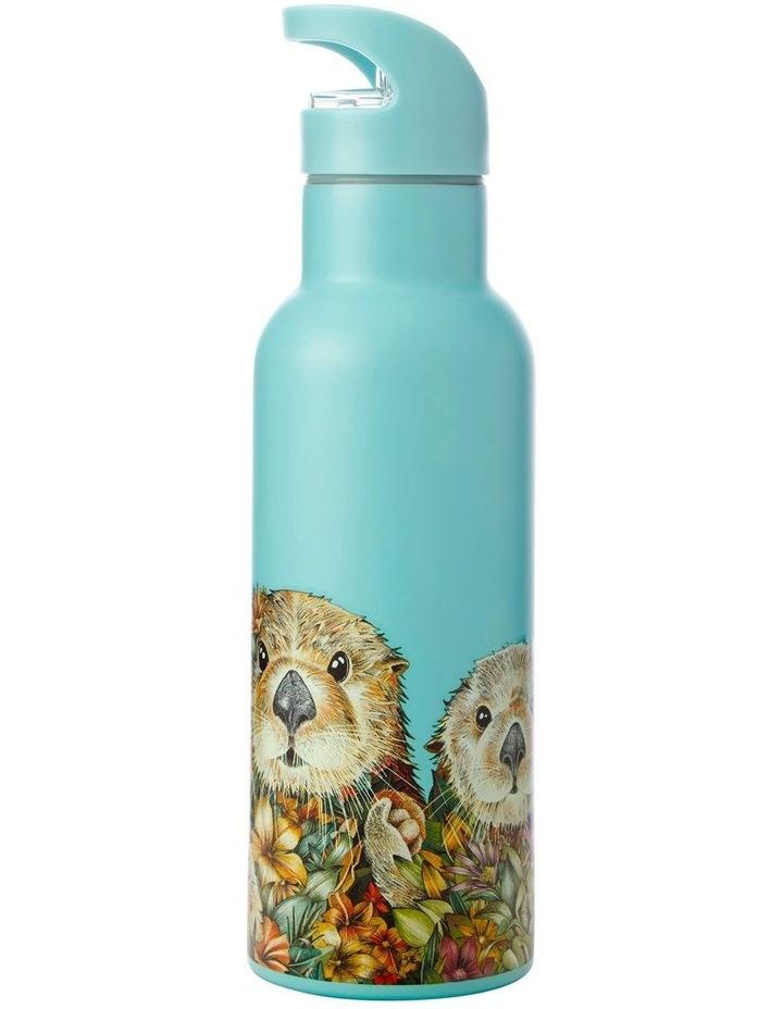 Marini Ferlazzo Wild Planet Double Wall Insulated Bottle 500ML Sea Otters image 1