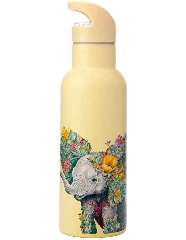 Marini Ferlazzo Wild Planet Double Wall Insulated Bottle 500ML Elephant image 1