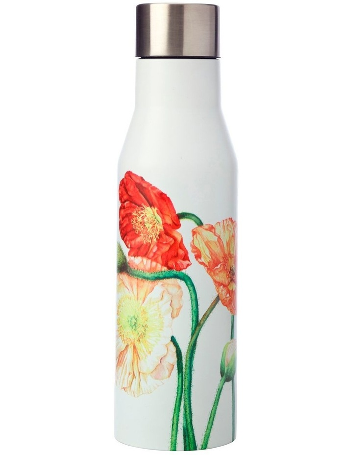 Katherine Castle Floriade Double Wall Insulated Bottle 450ML Poppies image 1