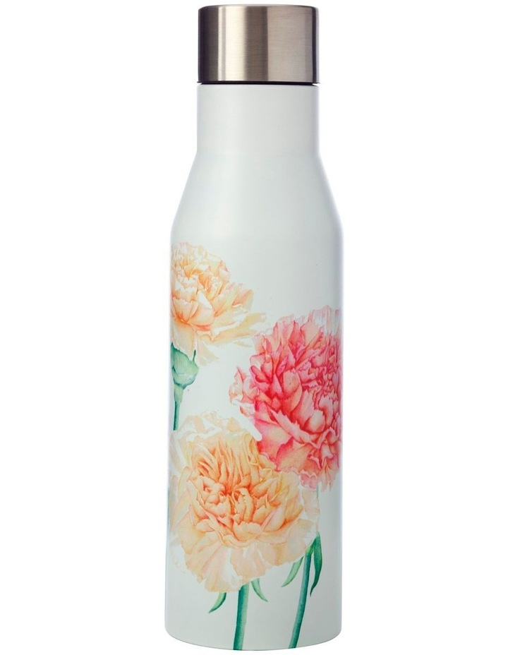 Katherine Castle Floriade Double Wall Insulated Bottle 450ML Carnations image 1