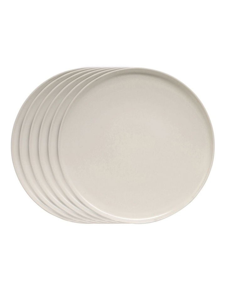 HUE Dinner Plate - 27.5cm - Stone - Set of 6 image 1