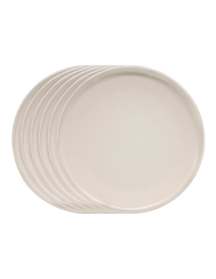 HUE Side Plate - 20cm - Stone - Set of 6 image 1