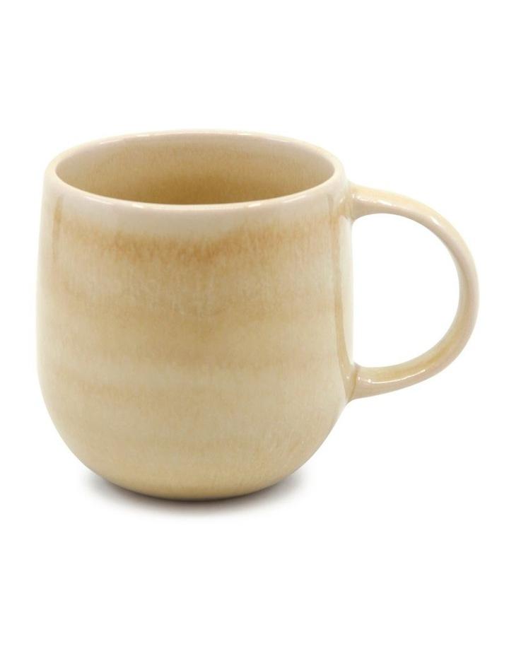 NAOKO Mug - 380ml - Butter - Set of 6 image 2