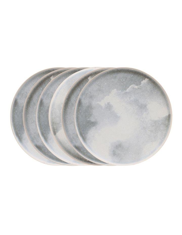 Nebi Dinner Plate - 27cm - Grey - Set of 6 image 1