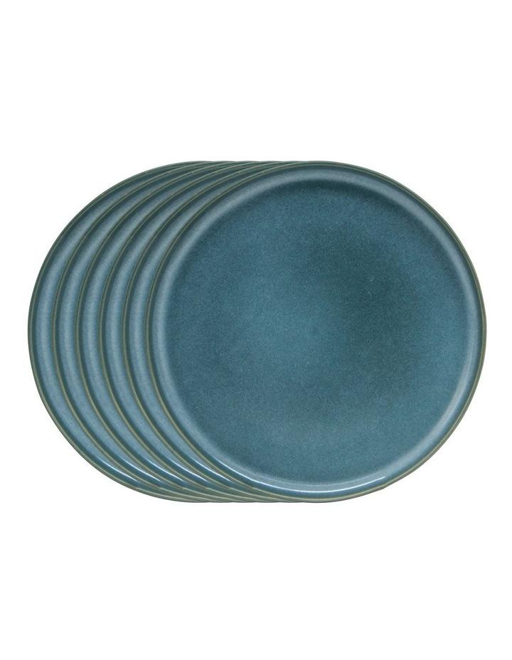 Hue Side Plate - Sage - Set of 6 - 20cm image 1