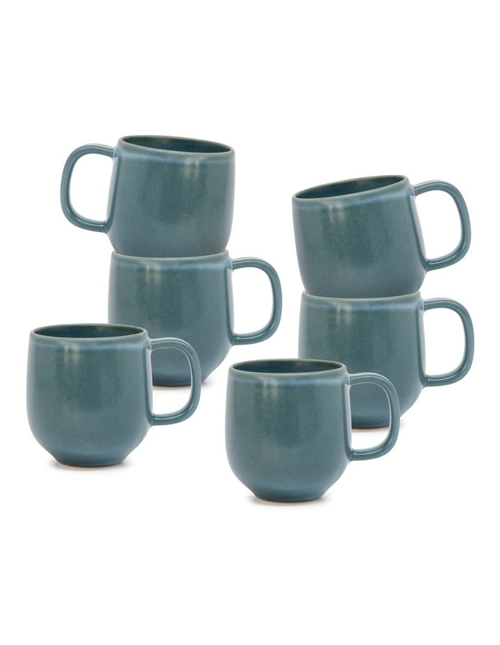 Hue Mug - 380ml - Sage - Set of 6 image 1