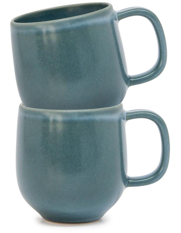 Hue Mug - 380ml - Sage - Set of 6 image 3