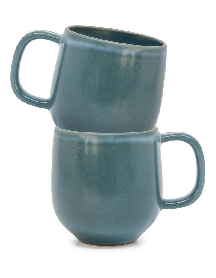 Hue Mug - 380ml - Sage - Set of 6 image 4
