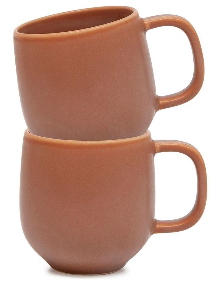 Hue Mug - 380ml - Rust - Set of 6 image 3