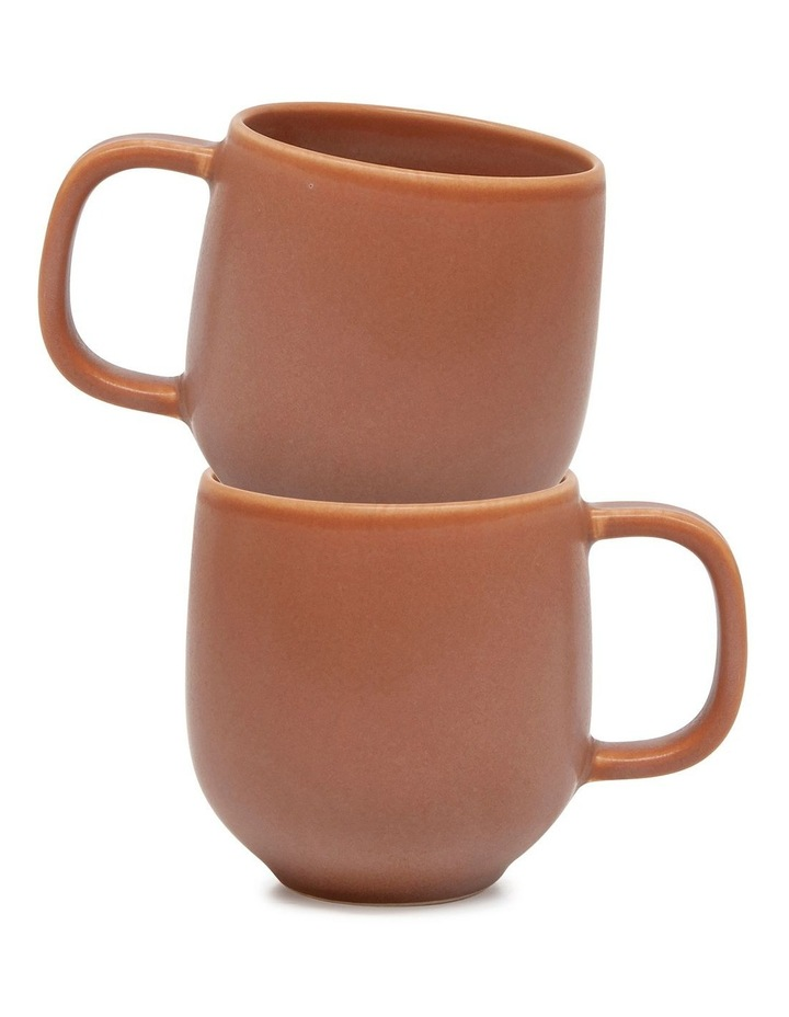 Hue Mug - 380ml - Rust - Set of 6 image 4