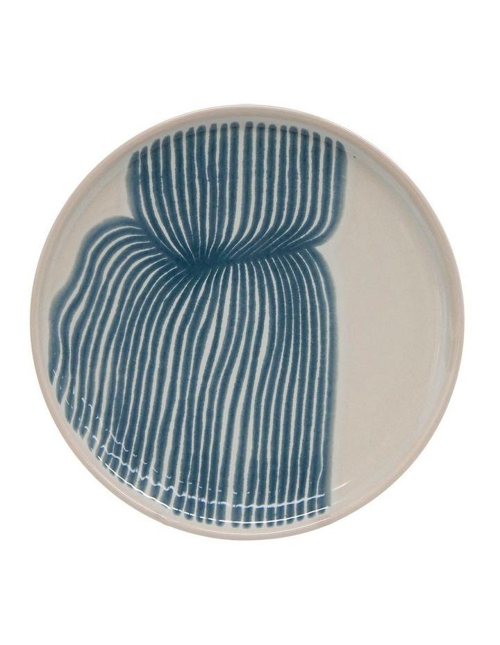 Sketch Dinner Set - 12-Piece - Blue image 3