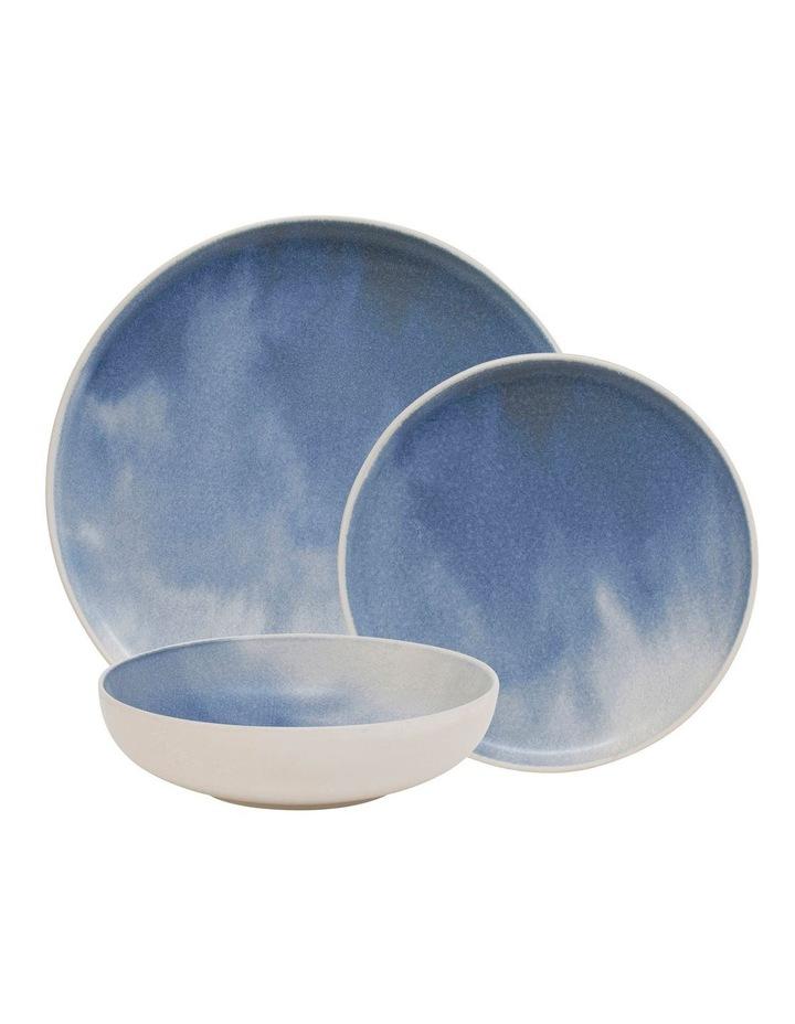 Kanoko Dinner Set - 12 Piece - Blue image 1