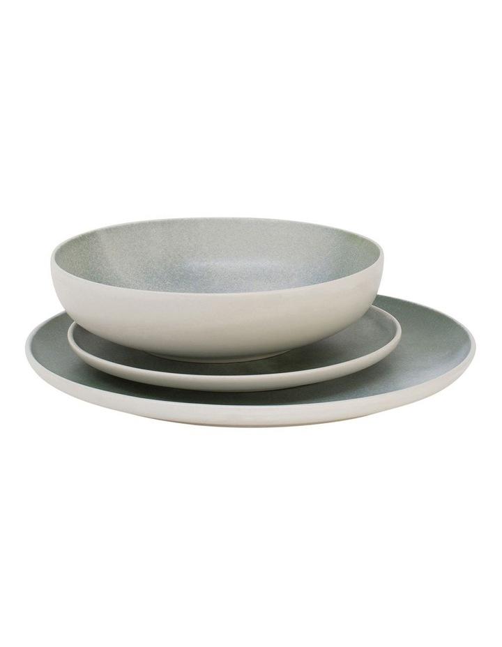 Kanoko Dinner Set - 12 Piece - Green image 2