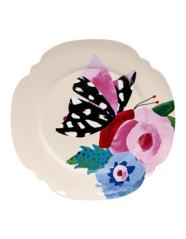 Willow Poppy 20cm Plate in Cream image 1