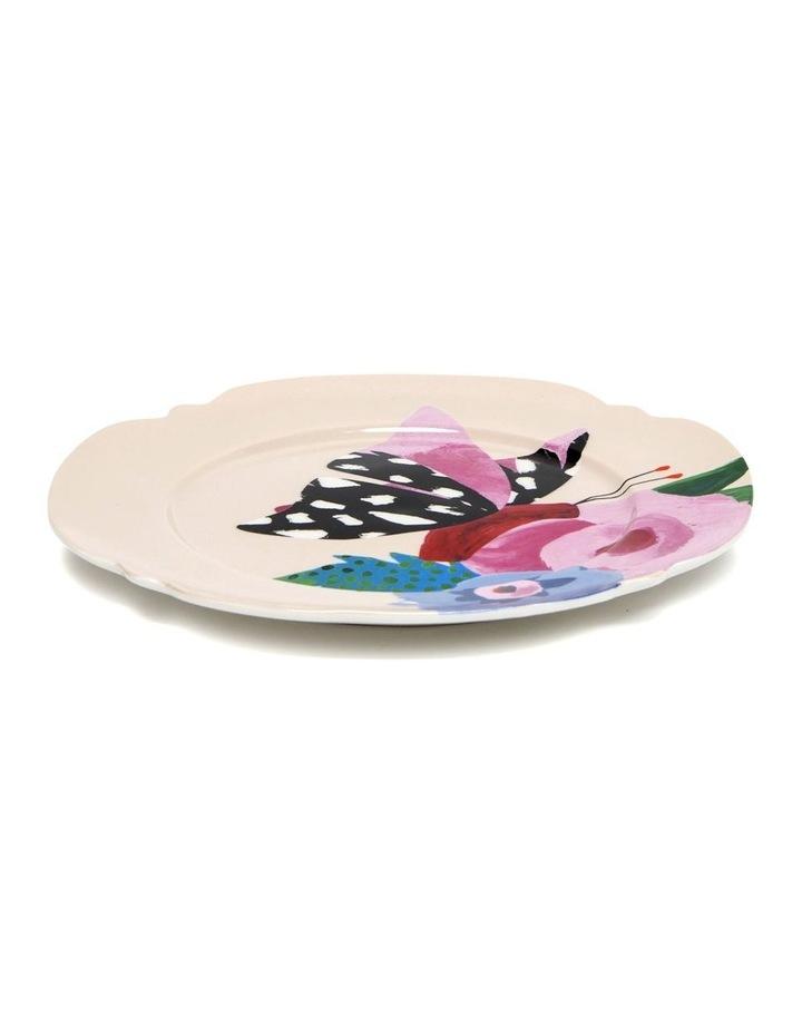 Willow Poppy 20cm Plate in Cream image 2