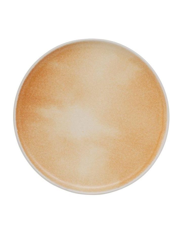 Kanoko Side Plate - 20cm - Caramel image 1