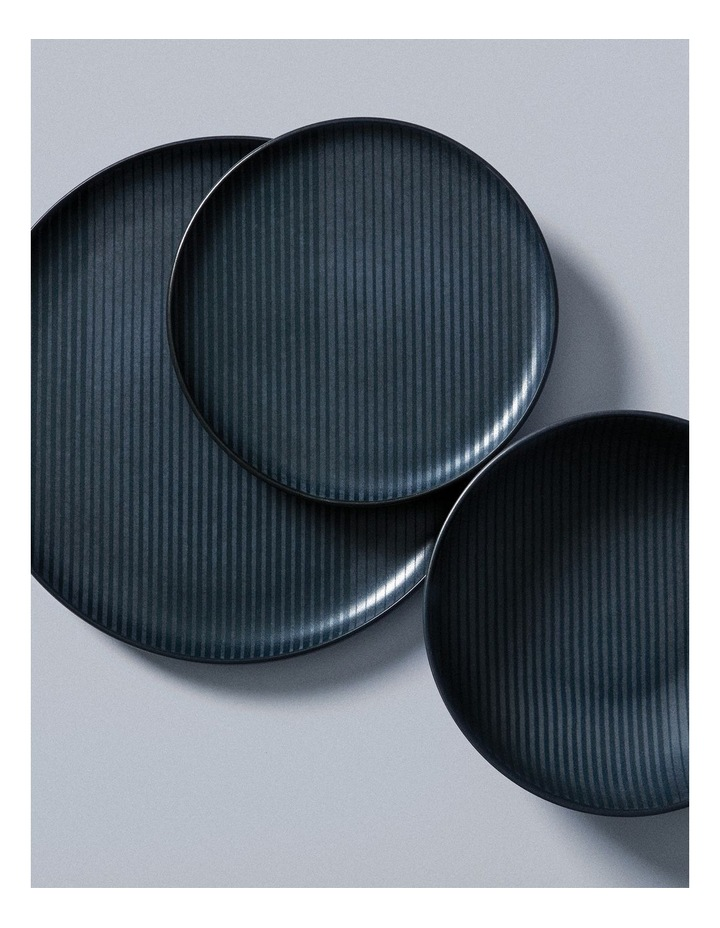 Oleg Side Plate - 20cm - Black image 3