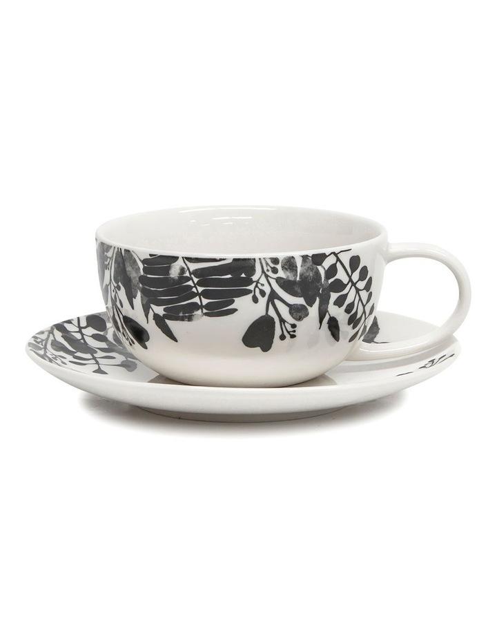 NERI Tea Cup and Saucer Set - 250ml/15cm image 1