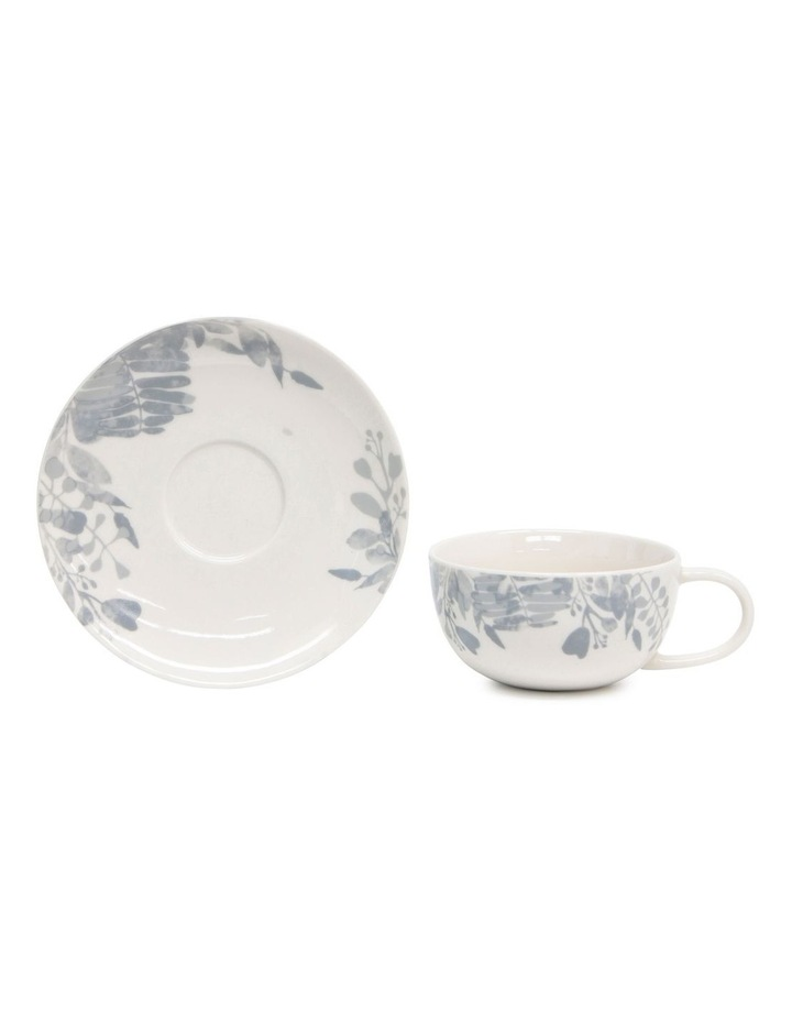 Neri Tea Cup & Saucer - 250ml - Cloud image 2
