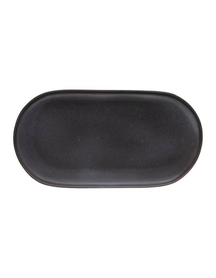 MAJOR Oval Serving Platter - 38cm - Black image 1