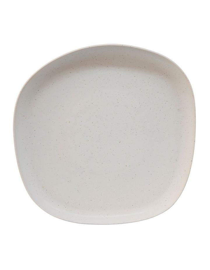 Arcata Round Platter - 33cm - Natural image 1
