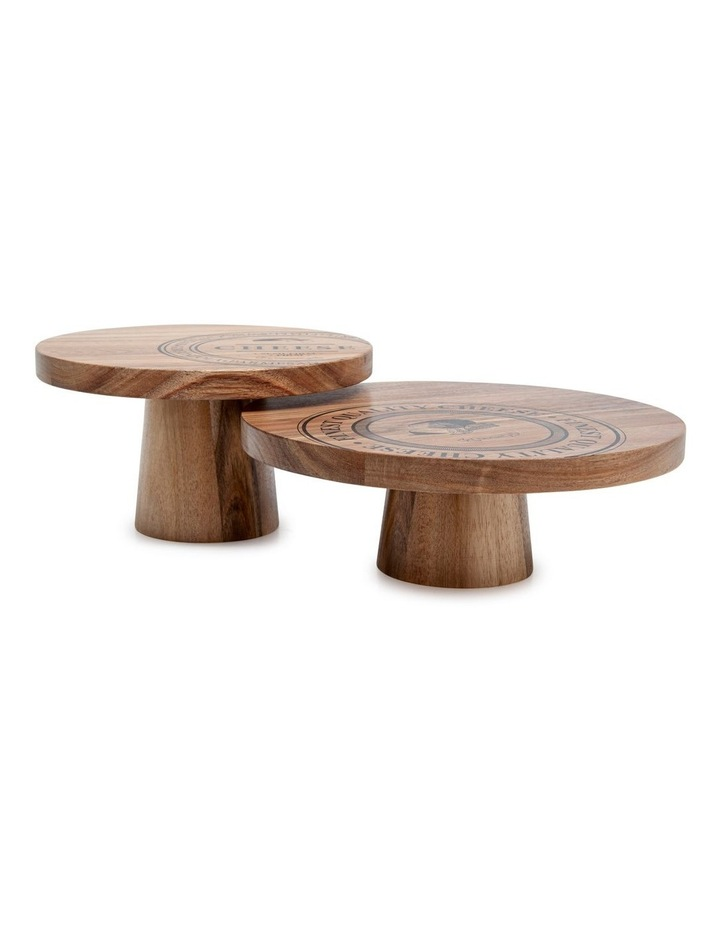 Fromage Serving Stands - Set Of 2 image 1