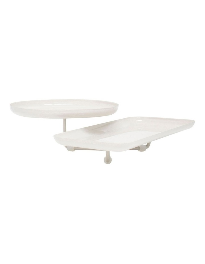 Amana 2 Tier Stand - White image 1
