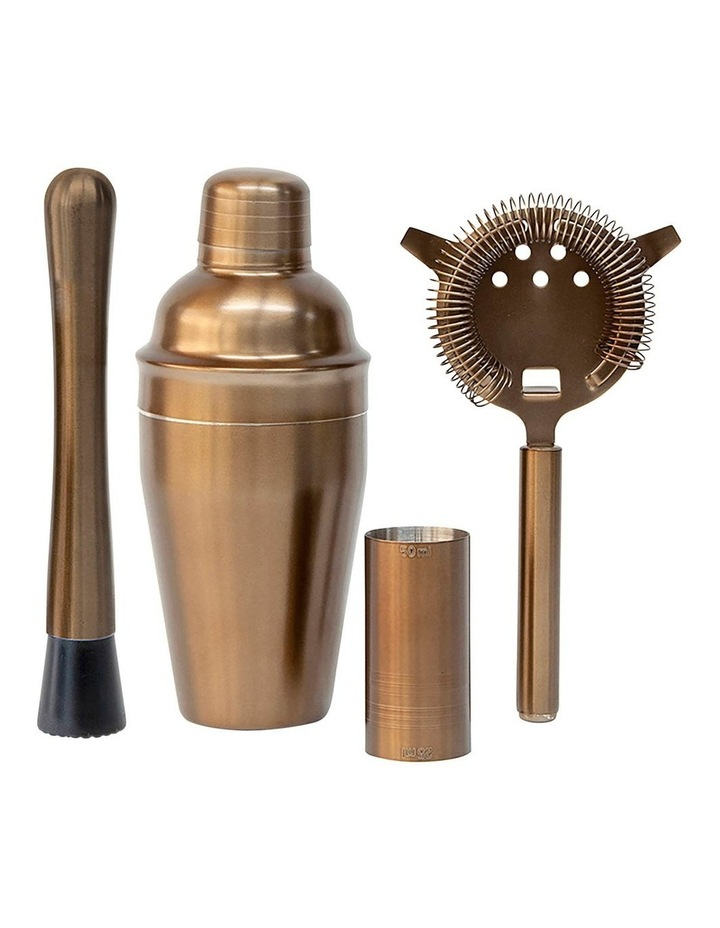 BOND Cocktail Set - 4-Piece - Metallic Bronze image 1
