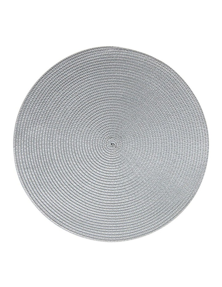 Paige 38cm Placemat in Grey image 1