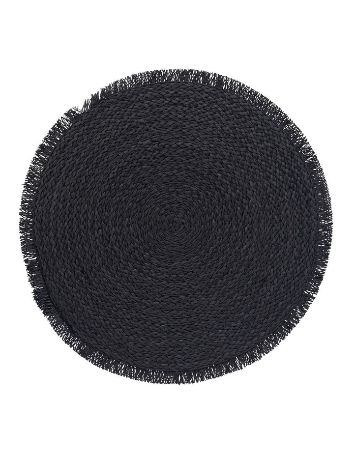 Paige 38cm Placemat in Black image 1