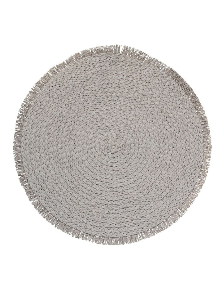 Paige 38cm Placemat in White image 1