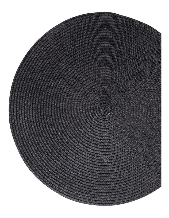 Paige Placemat - 38cm - Carbon image 2