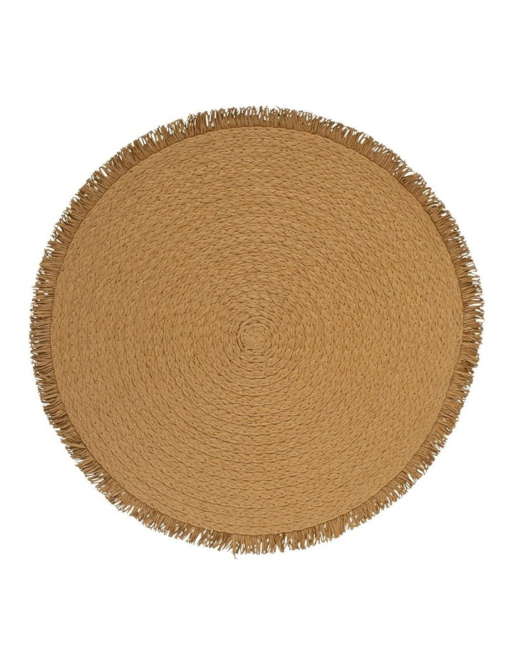 Piper Placemat - 38cm - Toffee image 1