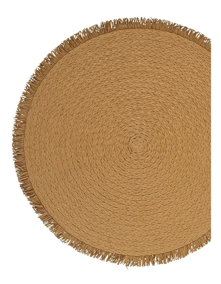 Piper Placemat - 38cm - Toffee image 2