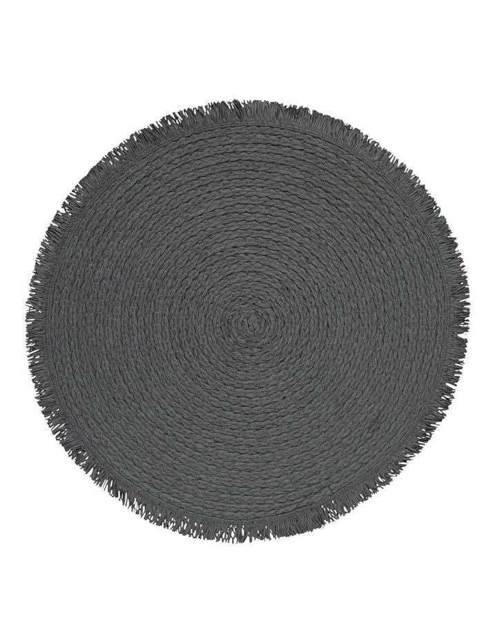 Piper Placemat - 38cm - Burnt Petrol image 1