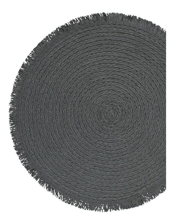 Piper Placemat - 38cm - Burnt Petrol image 2