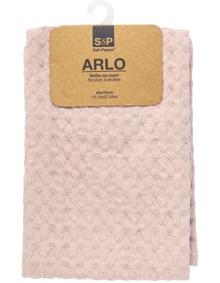 Arlo Tea Towel - 70cm - Soft Clay image 4