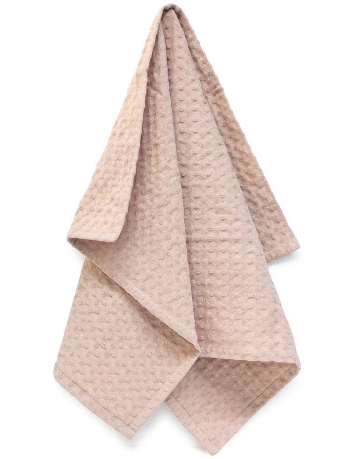 Arlo Tea Towel - 70cm - Soft Clay image 5