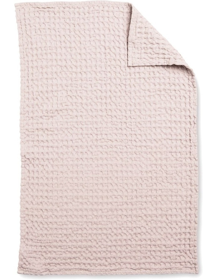 Arlo Tea Towel - 70cm - Soft Pink image 2