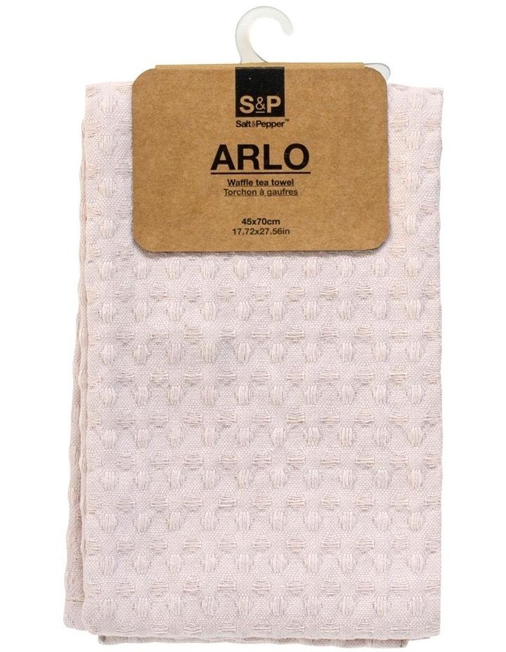 Arlo Tea Towel - 70cm - Soft Pink image 4