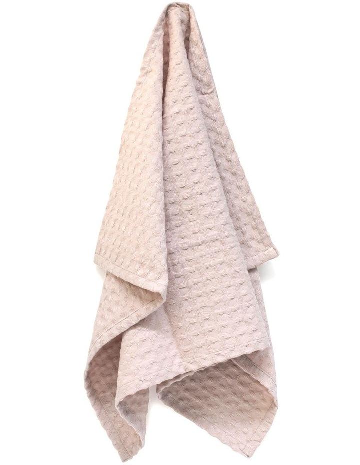 Arlo Tea Towel - 70cm - Soft Pink image 5