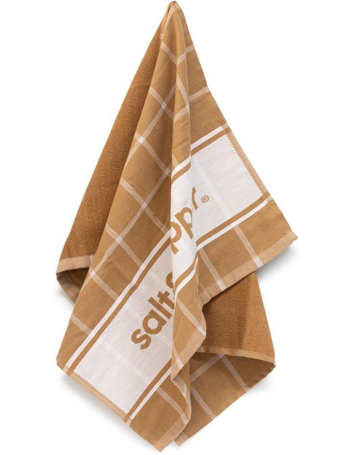 Signature Tea Towel - 70cm - Clay image 2