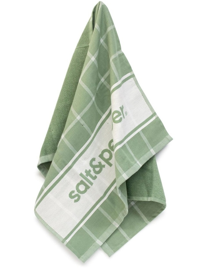 Signature Tea Towel - 70cm - Sage image 2