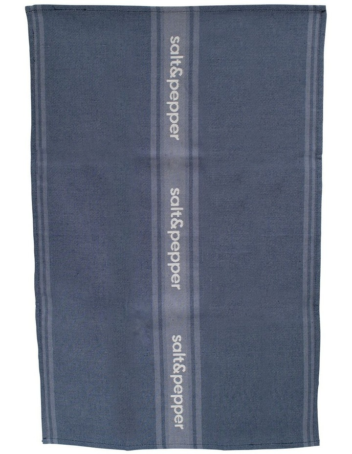 Cape Tea Towel - 70cm - Dusty Blue image 1
