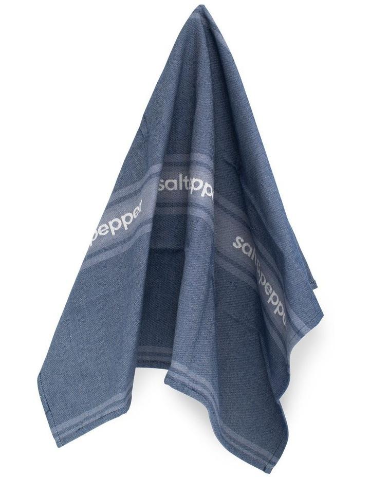 Cape Tea Towel - 70cm - Dusty Blue image 2